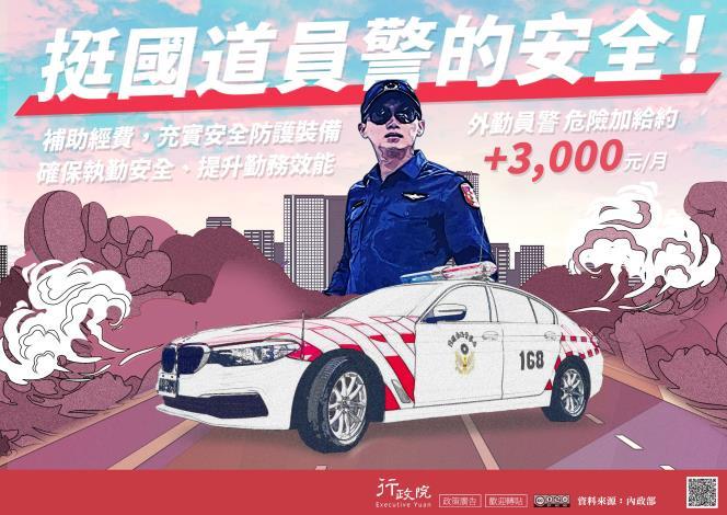 提升國道員警執勤安全