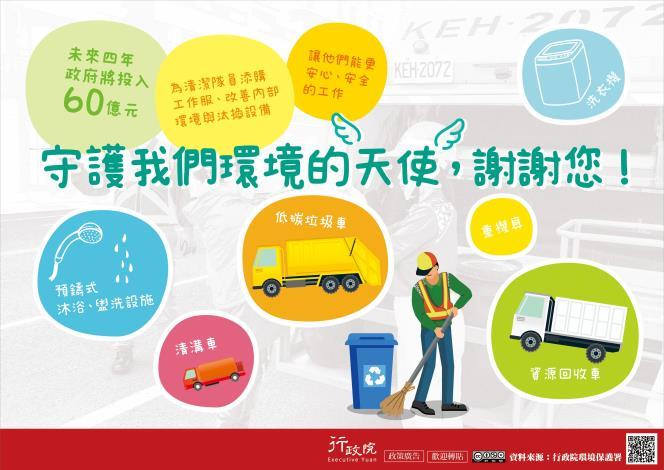 改善清潔隊員裝備與工作環境