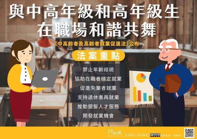 中高齡者及高齡者就業促進法