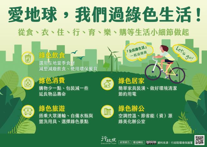 推動全民綠生活