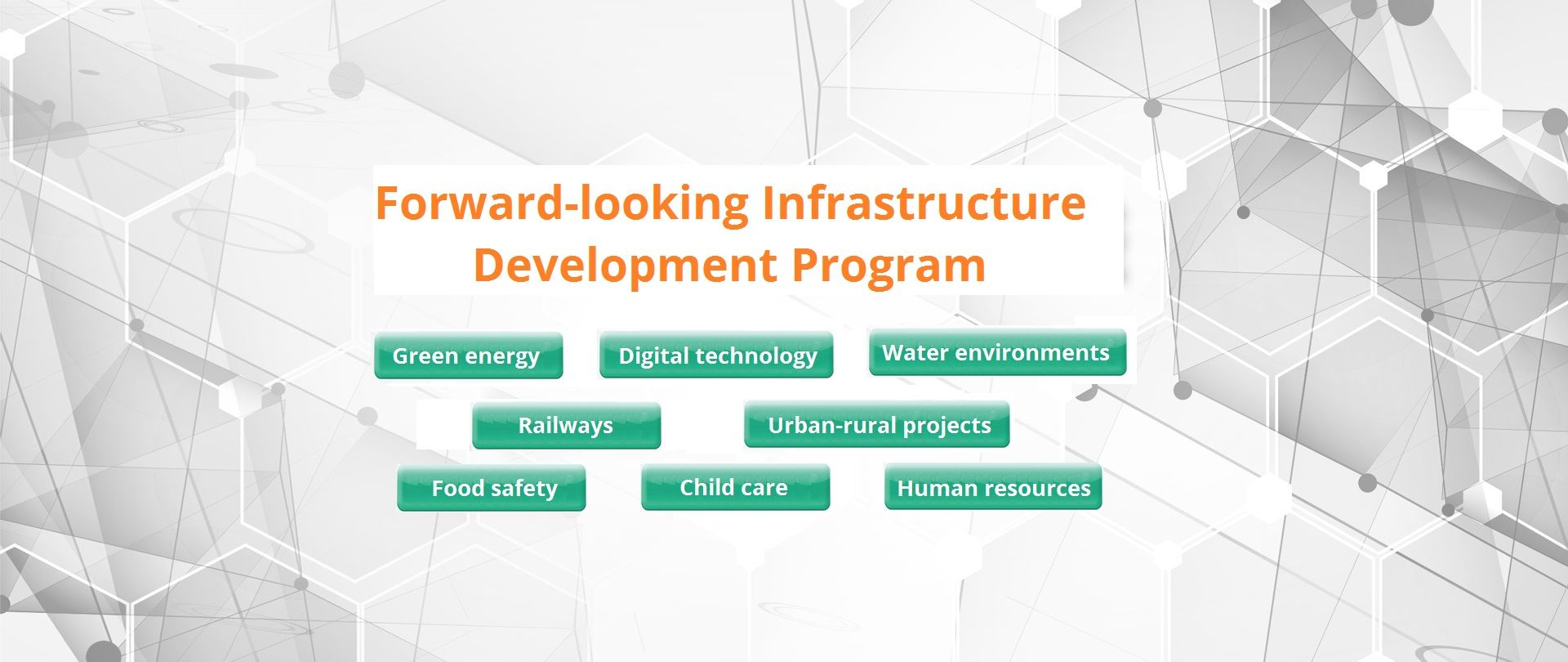 In an ongoing effort to build infrastructure for national development in the next 30 years, the government is actively making a comprehensive plan to expand infrastructure investme