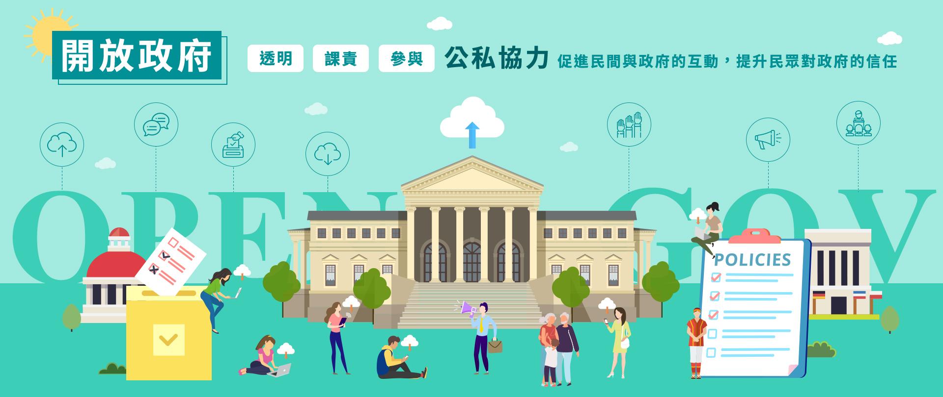 國發會開放政府資訊網頁